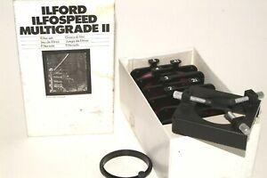 Ilford multigrade filter set
