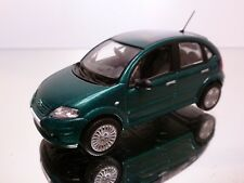 NOREV METAL CITROEN C3 - GREEN METALLIC 1:43 - EXCELLENT - 8/12
