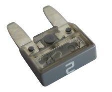 10 fusibles 2A gris mini 11.9mm 6V 12V 24V 36V pour auto moto voiture camion