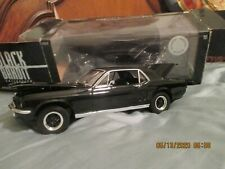 Greenlight 1:18 Die-Cast Ford Mustang 1967 Black Bandit