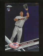 2017 Topps Chrome Aaron Judge New York Yankees RC Rookie