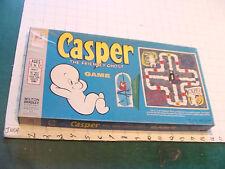 Orig. Vintage game: CASPER GAME w Wooden Pieces, clean