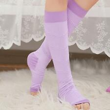 Women's Open Toe Varicose Veins Compression Socks Leg Slimming Stockings