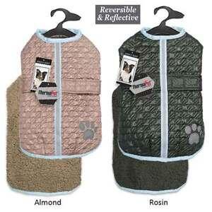 Zack & Zoey Dog Warm Reversible Reflective Waterproof Thermal NorEaster Coat