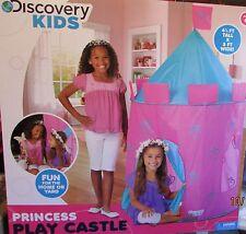 Discovery Kids Indoor Outdoor Princess Play Castle Tent Pink Purple - NIB!