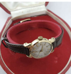 Genuine Finest Vintage Omega Manual Ladies with omega box and strap 80 microns