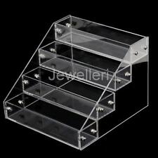 4 Tiers Makeup Nail Polish Acrylic Storage Organizer Rack Display Holder