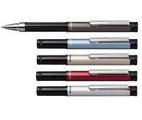 3 x Zebra M5 (F-301) Compact Steel Ballpoint Pens - 0.7mm - Blue ink