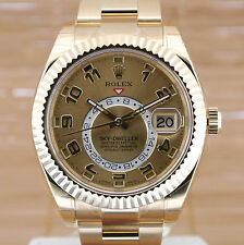 Men's Solid Gold Strap Mechanical (Automatic) Wristwatches