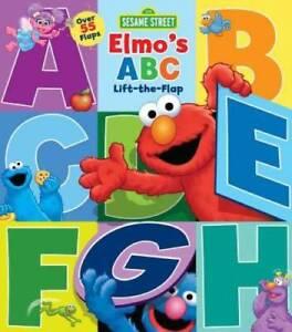 Sesame Street: Elmo's ABC Lift-the-Flap - Board book By Sesame Street - GOOD