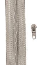 Gp 1,40 €/ m, 5 Meter Reißverschluss hell beige Spirale 3 mm + 10 Zipper YKK