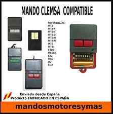 MANDO DE GARAJE CLEMSA  COMPATIBLE