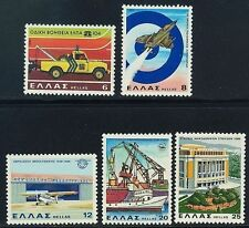 Greece. Anniversaries & Events 1980 (2) MNH, 25 years Air Force, Road Assistance