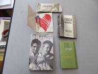 Valores Lote Por Aromas Mignon Vintage Con Caja Nunca Abierta - Por Diseñador