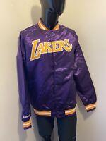 Mitchell and Ness NBA LAKERS Lightweight Satin Jacket - size XS