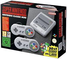 * NEU * Super Nintendo Entertainment System NES Classics Minis SNES 2017 Konsole