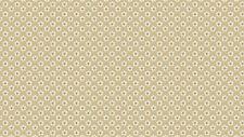 Flower Head Cream cotton fabric Blue Sky Coll. Size 55cm x 50cm larger available