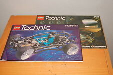 Lego Concept Car (8428/ 8432) Instruction Manuals Turbo Command