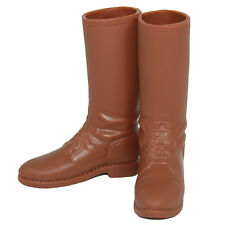 Infirmary Exclusives CHP Style Brown Boots for Action Figures 1:6 (1249g37)