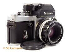 Nikon F2 Photomic 35MM Fotocamera SLR + Nikkor HC auto 50MM F2 Lens