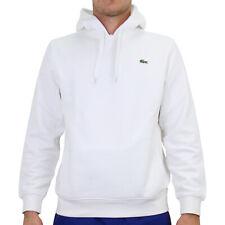 Lacoste Sport Sweatshirt Hoodie Kapuzenpullover Pulli Herren Weiß SH1527 800