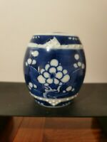 Chinese Antique Hand-Painting blue and white porcelain ginger jar