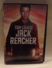 JACK REACHER, TOM CRUISE, DVD, SINGLE DISC W/ CASE & COVER ARTWORK