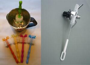 1 Set Bürste Reinigungsbürste + Messerb., ideal für Thermomix Töpfe TM5 TM6