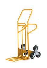 Sali scale  Carrello Saliscale in acciaio con Pedana Maggiorata Ribaltabile