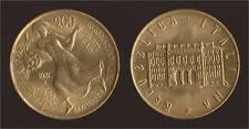 200 LIRE 1981 FAO GIORNATA DELL'ALIMENTAZIONE - ITALIA FDC/UNC FIOR DI CONIO