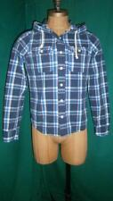 Hollister Hooded Check Casual Shirts & Tops for Men