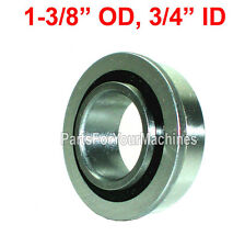 "SEALED, FLANGE BEARING 1-3/8"" OD, 3/4"" ID, GO KARTS, BUFFERS, CARTS, DOLLIES"