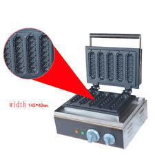 Electric corn dog waffle maker 110V 220V lolly hot dog waffle maker machine