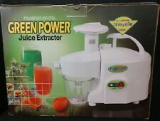 GREENPOWER KEMPO JUICE EXTRACTOR - TWIN GEAR - 3-WAY BIO MAGNETIC GPT- E1303