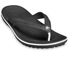 Crocs Crocband Flip Flops Lightweight Croslite Sporty Unisex Toe Post Sandals
