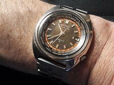 SEIKO 6117-6400 WORLD TIME GMT AUTOMATICO VINTAGE