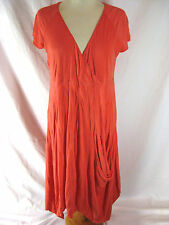 Jimmy Size 14 Sunset Orange Casual Dress