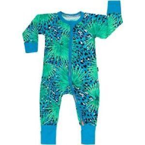 BNWT Bonds Baby Zip Wondersuit Tropical Size 000 or 0-3 Months