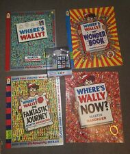 Where's Wally Book Set and Where's Wally Rubiks Special Addition