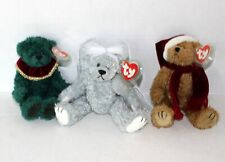 LOT OF 3 TY THE ATTIC TREASURE COLLECTION BEARS STERLING, JANGLE, AND LAUREL