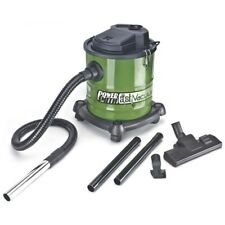 Green 10 Amp Ash Vacuum Cleaner 3 Gal. Dust Extractor Quiet Utility Vac Blower