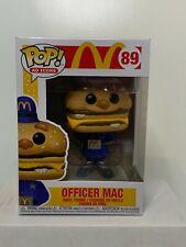 Funko Pop! AD Icons: McDonalds - Officer Mac #89 w/ Protector MINT
