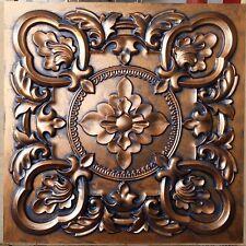eiling tiles Archaic coppery faux tin backdrop cafe club panel PL30 10tile/lot