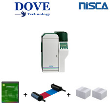 Nisca PR5350 Double Sided Colour ID Card Printer. Professional quality printing.