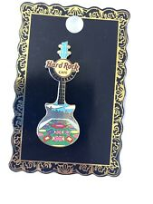 Hard Rock Cafe Brussels Limited Edition Guitar Pin Badge Belgium Grand Place