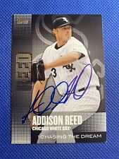 ADDISON REED 2013 TOPPS CHASING THE DREAM INSERT CARD # CD-17 Auto Signed