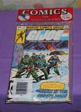 vintage Marvel G.I. JOE COMIC BAG sealed 3-pack of comics