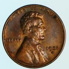 AU 1931-S Lincoln Wheat Cent Early US Copper Penny Coin Lot F4
