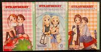 Strawberry Marshmallow 1, 2, 3 Manga Graphic Novel OOP Romance Tokyopop