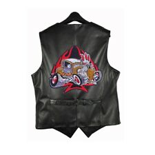 Hot Rod Patch Backpatch XL Rockabilly US Cars Old School V8 Speed Demon Racer